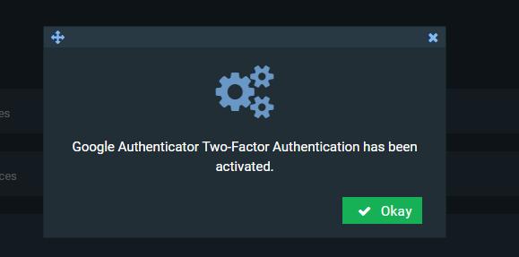 аккаунт защищен