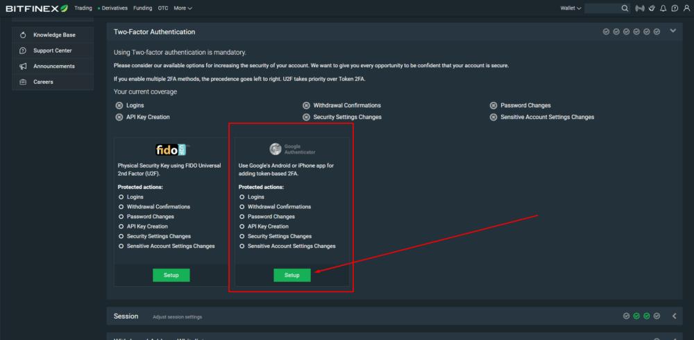 безопасность аккаунта